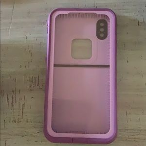 Gentle Used Life proof Fre Case for IPhone X